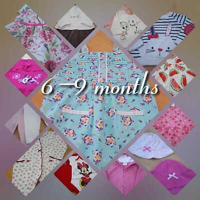 BABY GIRL CLOTHES 6-9 Months - Make your own bundle  (Combined P&P) Read Descrip