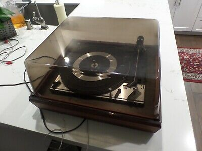 DUAL 1215 3-SPEED Vintage Turntable (for Parts Or Repair)