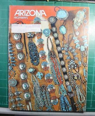 Arizona Highways March 1975 Old Pawn Red Gold Trading posts and Traders