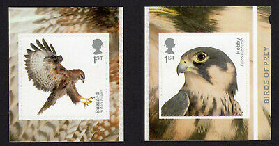 2019 BIRDS OF PREY - SELF ADHESIVE Single Stamps from Booklet PM66