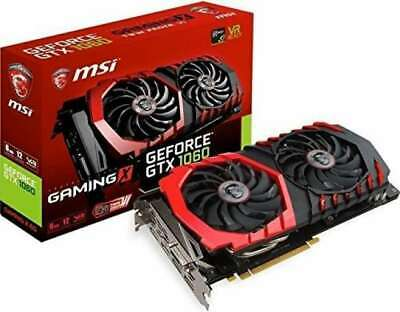 NEW MSI NVIDIA GeForce GTX 1060 Graphics Board GAMING X 6G Video Card From Japan