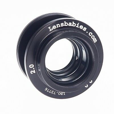 Nikon Lensbaby Selective Focus F Mount Lens With Tele and Wide Lens Adapters   2