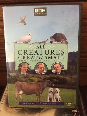 All Creatures Great & Small The Complete Series 3 Collection DVD BBC TV Classic