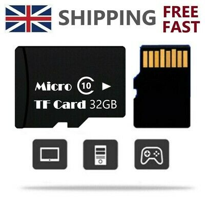 32GB Micro TF Memory Card SD Card HC Class10 for Mobile Phones 80MB/s Wholesale