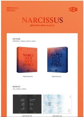 SF9: Narcissus 6th Min Album* Full Package Poster (CD, FNC) K-POP