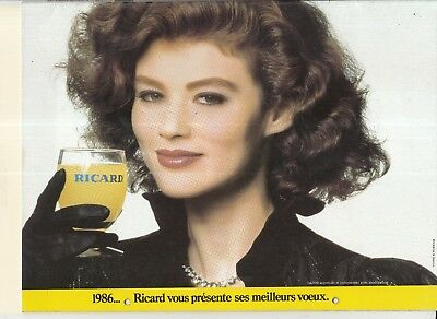 RICARD calendrier 1986 peu courant