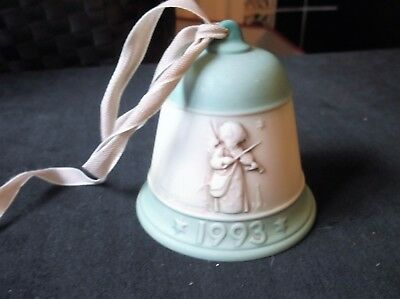 Collectable China Bell Hummel Christmas 1993 Hum 779 Goebel 1St Ed Heavenly