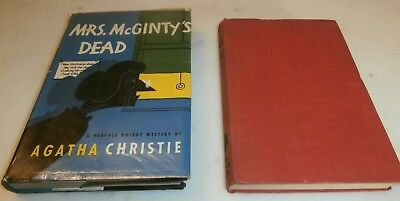 2 Libri book Agatha Christie Mrs Mcginty's dead 1952 they do it mirrors 1952