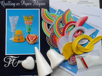 Quilling Kit - 3D Designs For Special Occasions by Past Times Quilling