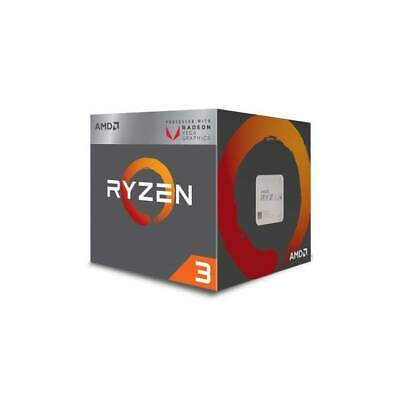 AMD Ryzen 3 2200G 4-Core 3.5GHz Socket AM4 w/Fan YD2200C5FBBOX Radeon Vega 8