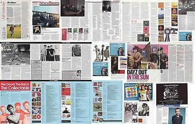 BLUR : CUTTINGS COLLECTION -interviews adverts-