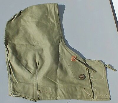 Vintage WW2 US Army Military Hood for M-1943 Field Jacket Large (44-48)