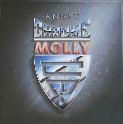 Chrome Molly - Angst (IRS Records Vinyl-LP Schallplatte OIS Holland 1988)