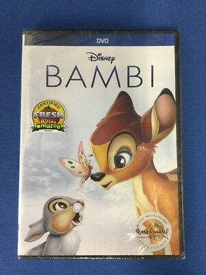 NEW Bambi (DVD, 2017, Signature Collection) -1816-267-017