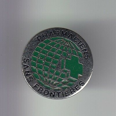 Rare Pins Pin's .. Ong Medecine Medical Pharmacie Pharmaciens Sans Frontiere ~Dh