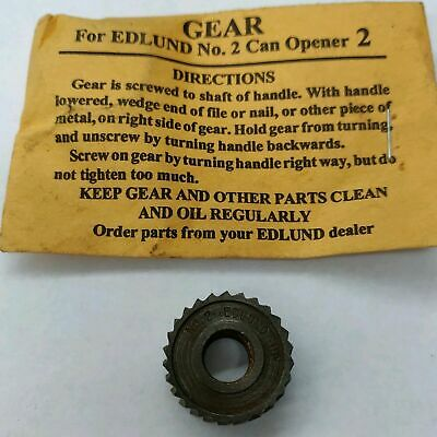 Edlund No. 2 #2 Can Opener Replacement Gear G004Sp Brand New