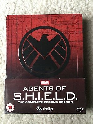 Marvel Agents of SHIELD Complete Second Season 2 (Blu-ray Steelbook) NEW