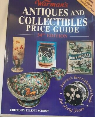 Warman's Antiques and Collectibles Price Guide 2000 34th Edition 639 Pages