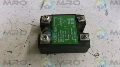 Electromatic Ra2450-D06 Relay * Used *