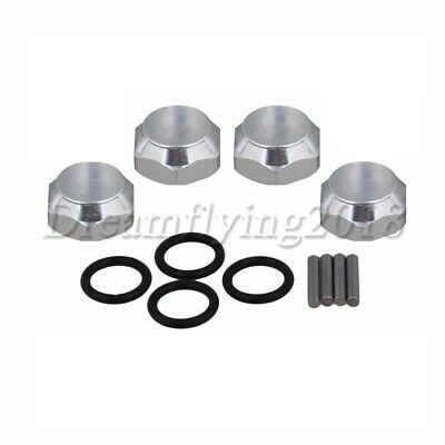 4PCS Aluminum Alloy 17mm to 23mm Hex Extension Adapter for RC 1:8 Model Car New
