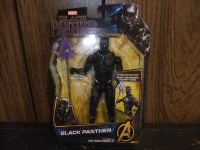 Black Panther Vibranium Gear 2017 Action figure New in Box Marvel 6 inches