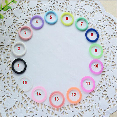 5X/Set O-Rings Silicone Baby Dummy Pacifier Chain Clips MAM Adapters Holders JR