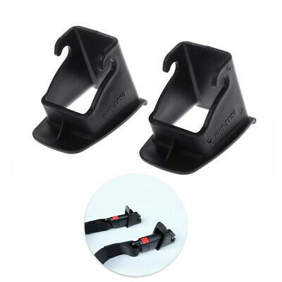 1 Pair Car Vehicle Infant Baby Seat ISOFIX Latch Belt Connector Guide Groove DEN