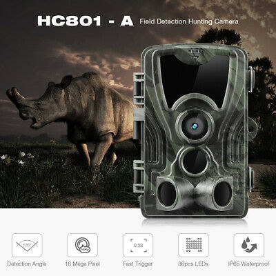 camera trail game moultrie cam infrared hunting 16MP 1080p scouting  new button
