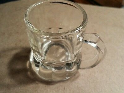 Clear Mug Style Shot Glass - FEDERAL