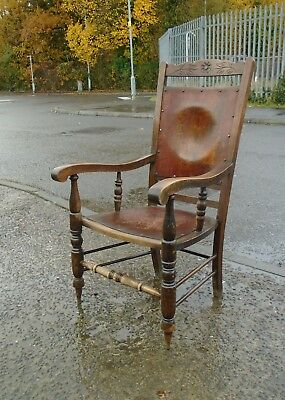 Antique Luterma Bentwood Armchair      Delivery Available