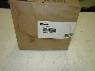 Warner Electric 5370-536-007 Output Clutch *Used*
