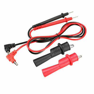 Multimeter Test Leads Banana Plug w Probe and Alligator Clips,10A, 4-in-1 Set
