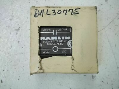 Hamlin 7531D Solid State Relay *New In Box*