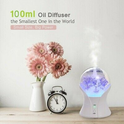 Air Aroma Humidifier Ultrasonic Air Aromatherapy Essential Oil Diffuser 100ml