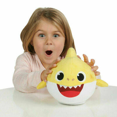 Baby Shark Plush Singing Plush Toy Music Doll English Song Gift Kid+ Battery ER