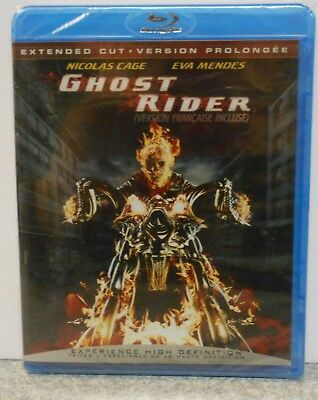 Ghost Rider (Blu-ray Disc, 2007, Canadian) BRAND NEW