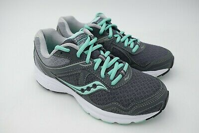 SAUCONY COHESION 10 Running Shoes Women's Grey Blue Size US