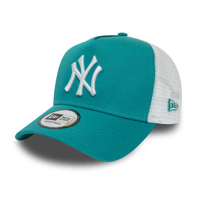 New Era New York Yankees Baseball Cap.9Forty A Frame Essential Trucker Hat 9S2