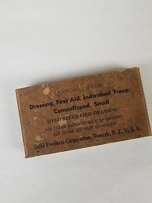 Us Gi Wwii First Aid Bandage. New Old Stock.