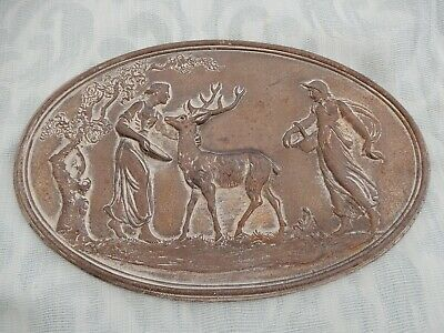 Genuine 19th Century Cast Iron Coalbrookdale Sample / Exhibition plaque