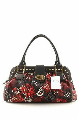60a347cd4d09c PAUL SMITH Handtasche florales Muster extravaganter Stil Damen schwarzbraun  Bag