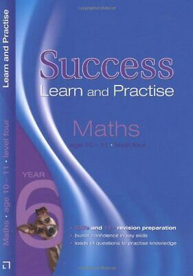 (Good)1844192180 Letts Key Stage 2 Success - Maths Age 10-11 Level 4: Learn and