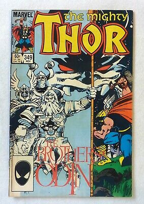 The Mighty Thor 349 Marvel Comics VFN- Condition Bronze Age 1984