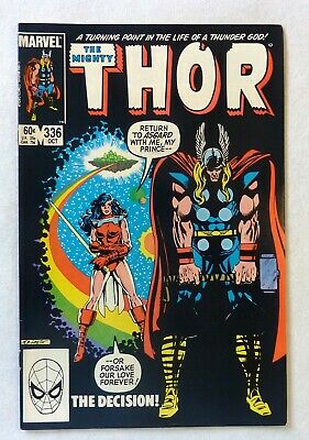 The Mighty Thor 336 Marvel Comics VFN+ Condition Bronze Age 1983