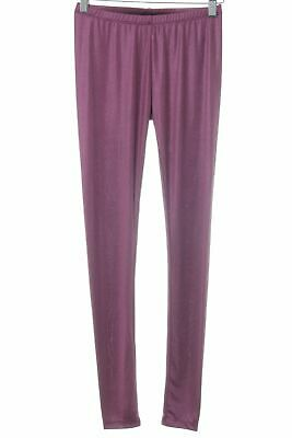 ONE GREEN ELEPHANT Leggings violett Glanz-Optik Damen Gr. DE 34 Hose Trousers