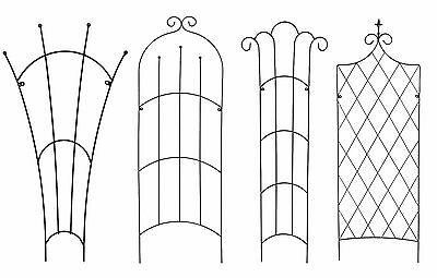 Heavy Duty Metal Garden Trellis by Tom Chambers - Climbing Plant Support Frames