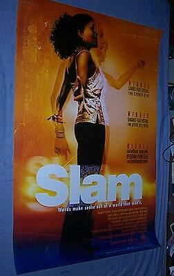 Original 1998 SLAM Bus Shelter Subway Poster 32x47 1/2