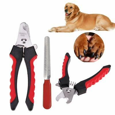 Dog Nail Clippers Pet Small Large Cutting Scissors Claw Professional Grooming