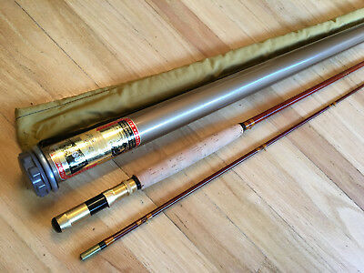 Vintage Heddon Pal Fly Fishing Rod 2 Piece with Case Dowagiac USA Nice!