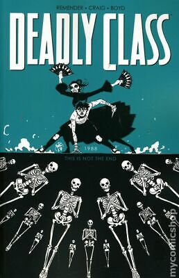 Deadly Class TPB (2014- Image) #6-1ST 2017 NM Stock Image
